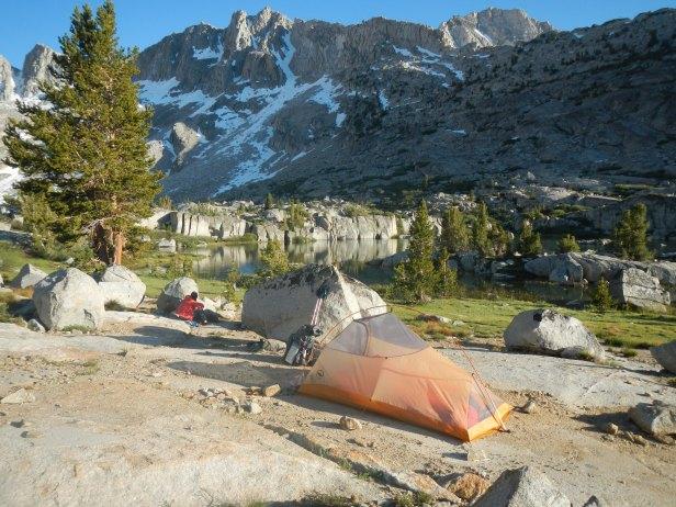 79 Dusy Basin Camp